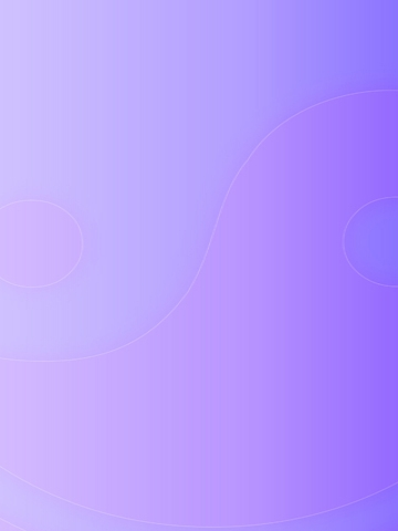Light Purple Yin and Yang Wallpaper