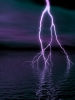 Lightning Strikes Water