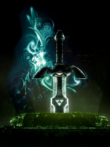 Link Master Sword Wallpaper