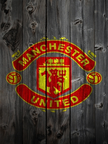 Manchester United Wood Wallpaper