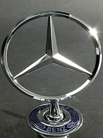 mercedes benz christmas ornament