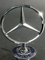 Mercedes Benz Hood Ornament