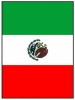 Mexican Flag Horizontal