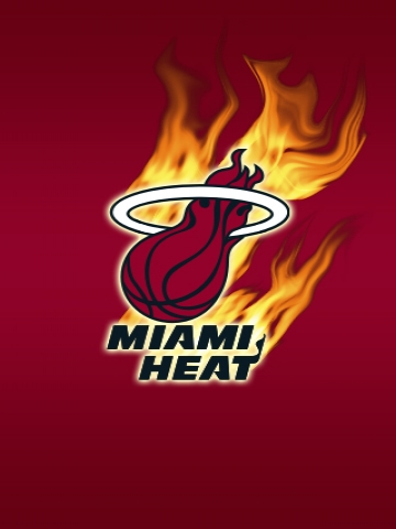 Miami Heat Fire Wallpaper