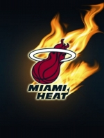 Miami Heat Logo Black