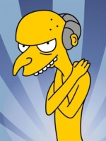 Naked Mr Burns Simpsons