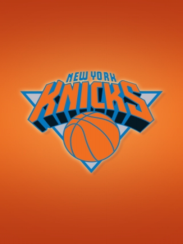 New York Knicks Orange Wallpaper
