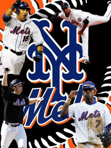 New York Mets Collage Wallpaper