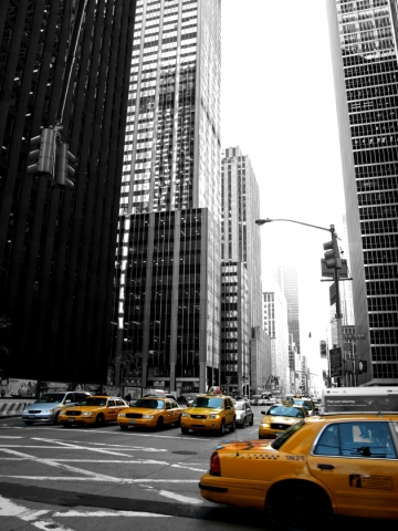 New Your City Taxis Wallpaper
