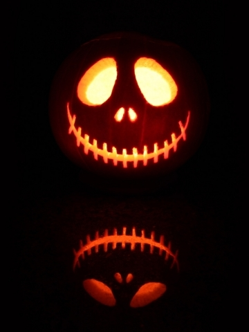 Nightmare Before Christmas Jack Pumpkin | quotes.lol-rofl.com