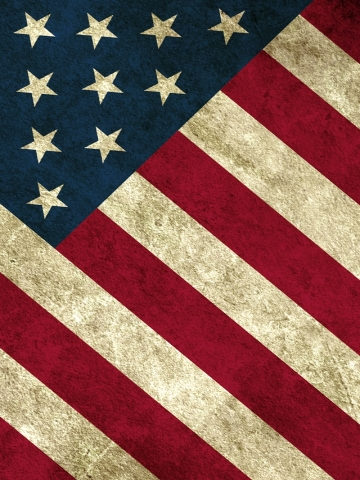 Old American Flag Wallpaper