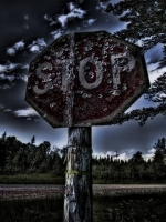 Old StopSign