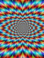Optical Illusion Rainbow Colors