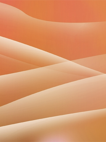 Orange Layers Wallpaper