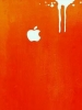 Paint Drip Apple