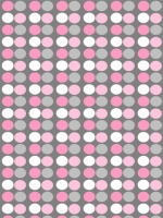 Pink And White Polka Dots