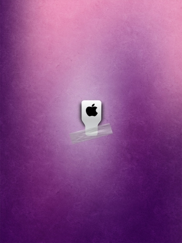 Pink Apple Wallpaper
