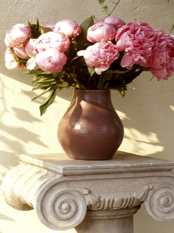 Pink Flower Vase Wallpaper