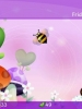 Purple Background with Bee