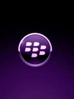 Purple Blackberry Logo