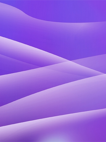 Purple Layers Wallpaper