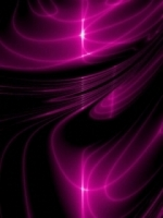 Purple Light Swirls