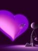 Purple Painted Love