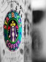 Rainbow Starbucks