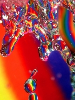 Rainbow Water Splash