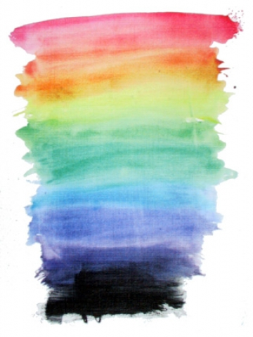 Rainbow Watercolor Wallpaper