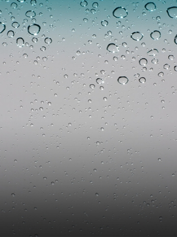 Raindrops on screen Wallpaper