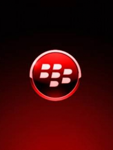 Red Blackberry Logo Wallpaper