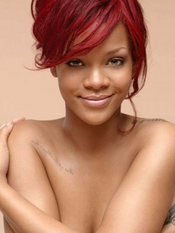 Rihanna Topless Wallpaper