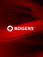 Rogers Red Waves Logo