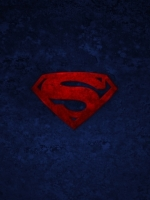 Rustic Superman Symbol