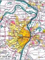 Saint Louis Geographic Map