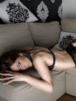 Sexy Girl on Couch