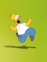 Silly Homer Simpson Dancing