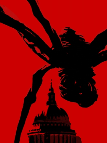 Spider on Capitol Wallpaper