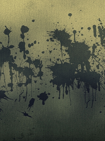 Splattered Paint on Wall Wallpaper