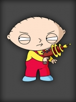 Stewie with Gun