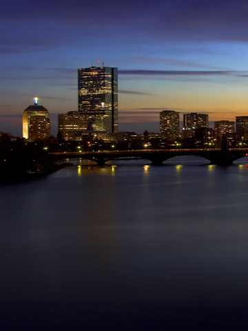 Sunset on the Charles Wallpaper