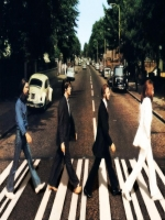 The Beatles Crossing Street