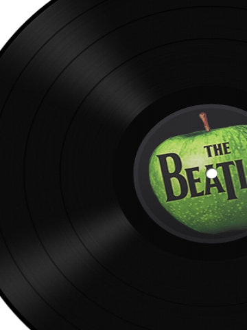 The Beatles Record Wallpaper