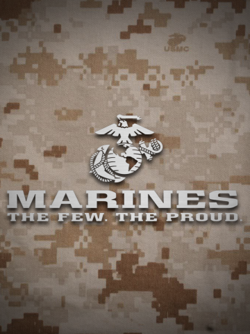 The Few. The Proud. The Marines Wallpaper | iPhone ...