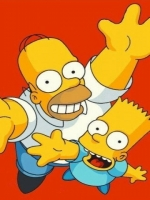 The Simpons Homer and Bart