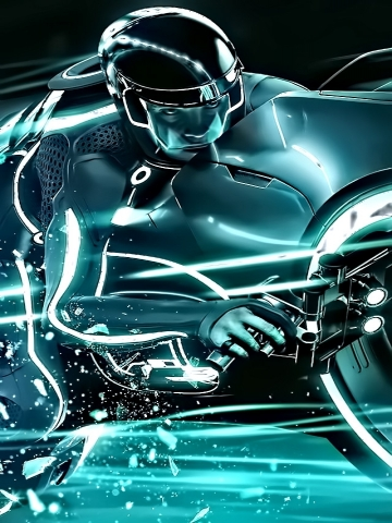 Tron Bike Wallpaper