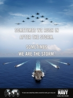 US Navy We are the Storm