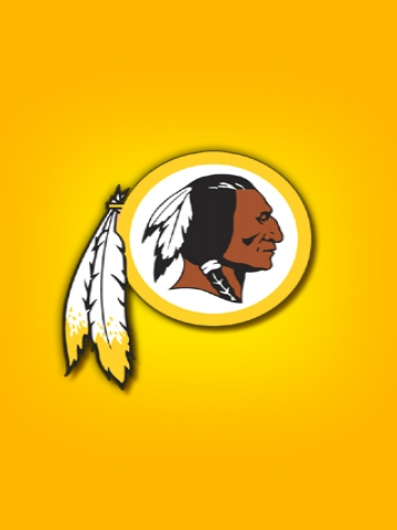 Washington Redskins Yellow Wallpaper