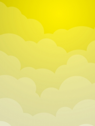Yellow Clouds Wallpaper